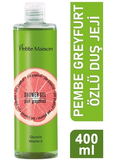 Petite Masion Petite Maison Pink Grapefruit Duş Jeli 400 ml Renksiz